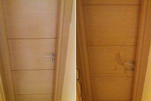 επισκευη σπασμενης πορτας